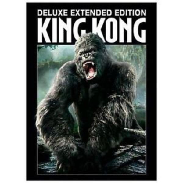 King Kong (DVD, 2006, 3-Disc Set, Extended Version) Jack Black, Naomi Watts, NEW