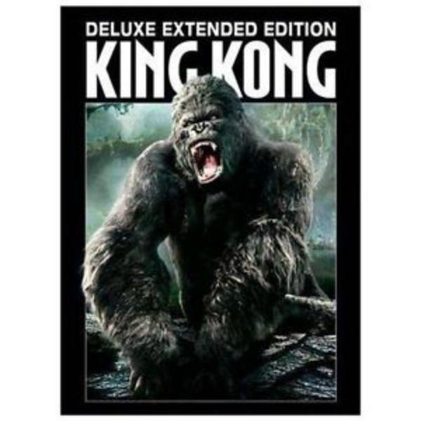 King Kong (DVD, 2006, 3-Disc Set, Extended Version) Jack Black, Naomi Watts, NEW