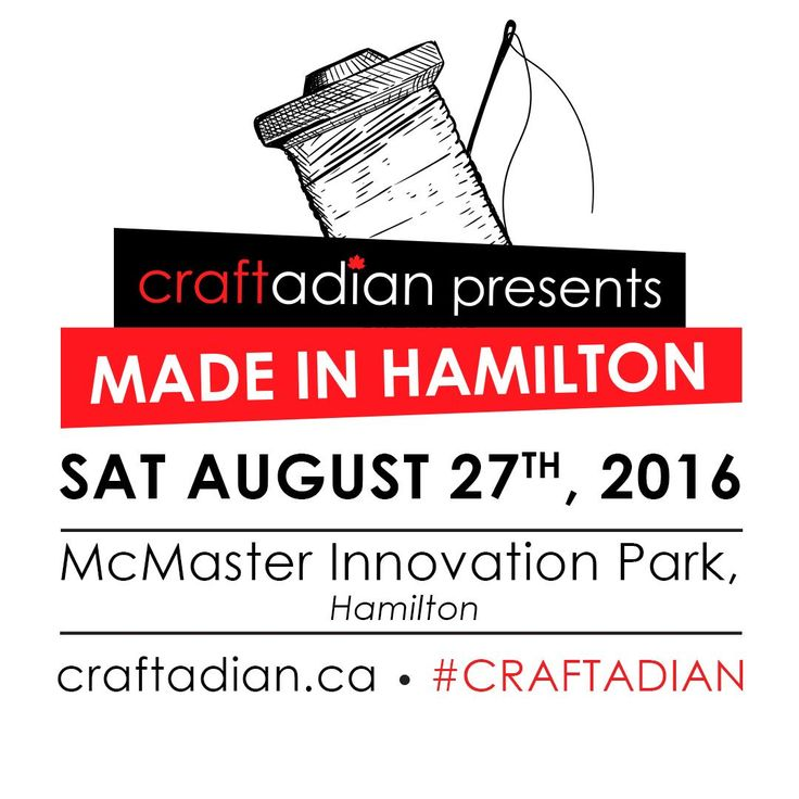 Craftadian presents Made in Hamilton, an exclusive event featuring exhibitors in the Hamilton area. Enjoy shopping with 50 local artisans, local food & more