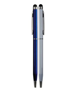 This set of elegant stylus pens is perfect for taking handwritten notes and navigating through a touch-screen device. The durable rubber tip allows for ease of use without scratching or smudging surfaces.