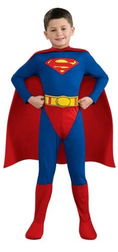 Superman Toddler Boys Costume Man of Steel Outfit From Express Fancy Dress