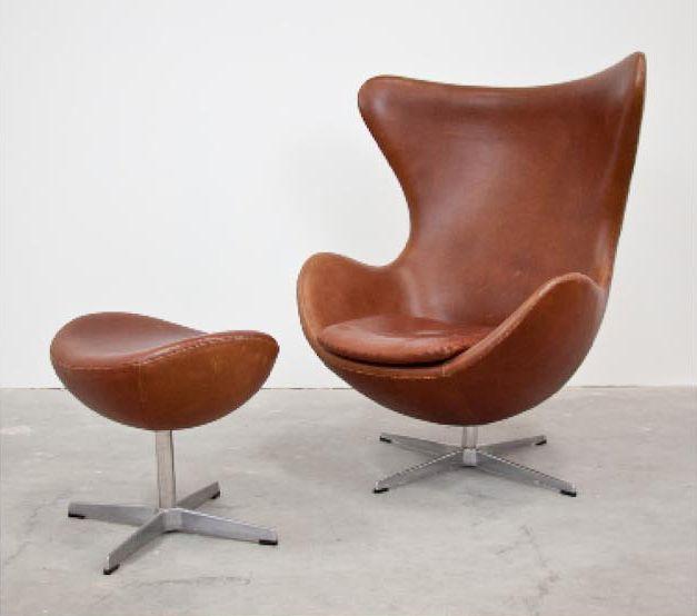 Arne Jacobson, Egg Chair Andu2026   20/21C Design   Shapiro Auctioneers