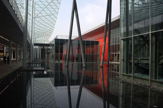 META MAGAZINE   archicake daily - 延伸都市地景的軸線 Massimiliano Fuksas米蘭展覽中心