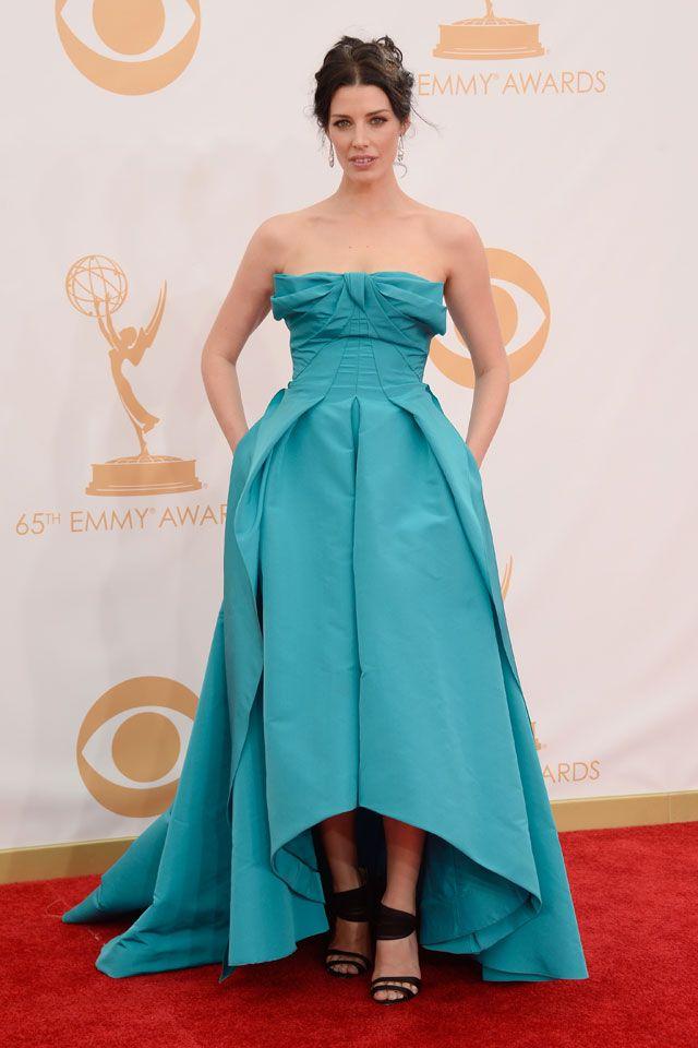 Vestidos longos do Emmy Awards 2013: Primetim Emmy, Annual Primetim, Jessica Pare, Emmy Awards, 2013 Primetim, Red Carpets, Jessica Rabe, 65Th Annual, Fashion Stilen