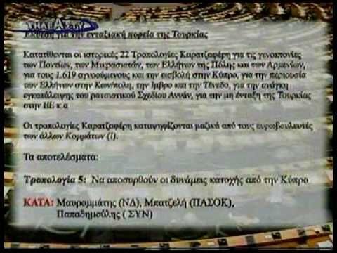 Oι Προδοσίες των Ελλήνων Ευροβουλευτών πλήν ΛΑ.Ο.Σ.