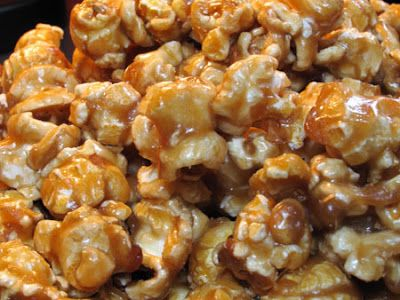 Caramel Popcorn- for Friday nights of course