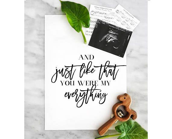 Pregnancy Announcement  Printable Poster  Pregnancy Reveal