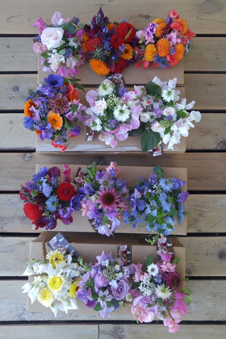 A special collection of Mason Jar Posies ready to be delivered. All custom designed with Alchemy Farm grown speciality flowers. #masonjarposy #masonjarposies