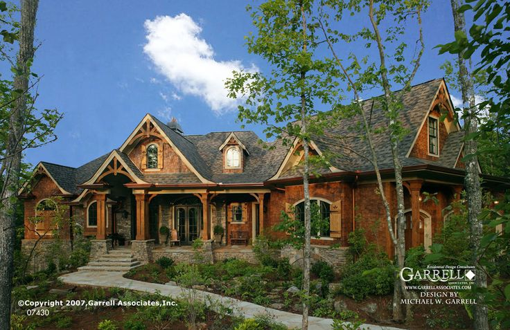 41 Best Rustic Mountain House Plans Images On Pinterest