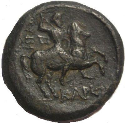 античная монета Керкинитида монета-стрелка Тихе в башенной короне, скиф на коне, каталог античных монет, как стать антикваром, безопасность антикварного бизнеса, коллекционирование инвестиции