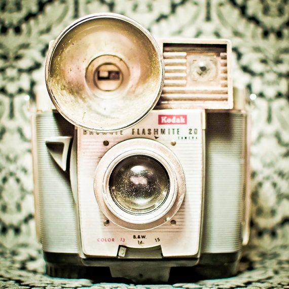 Old Kodak Camera - looks futuristic though don't it?