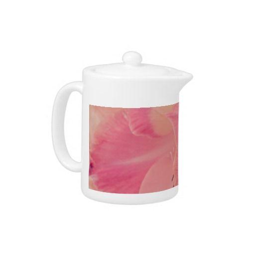 Gladiola Petals Teapot