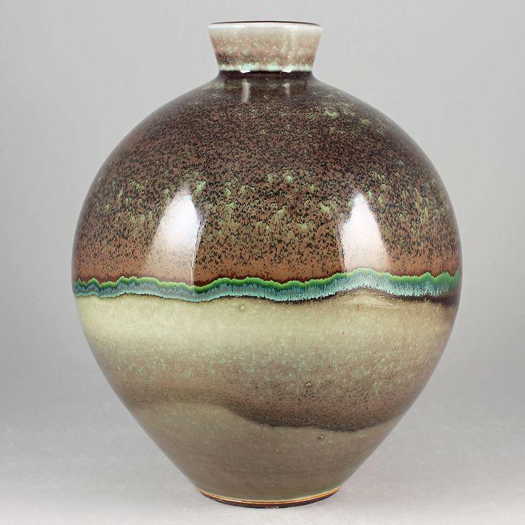 Berndt Friberg (1979) Unique Massive Oxblood Vase