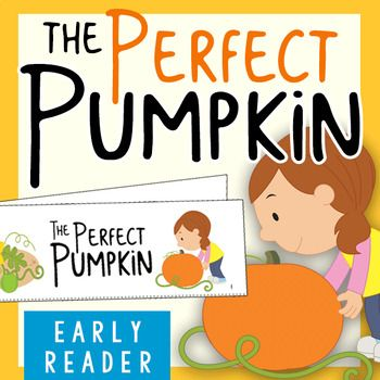 K-1 students read about the journey to find the perfect pumpkin. This is the perfect transitional book between emergent and early readers. Sight words and math vocabulary are listed below. Simple Story Strip formatting makes assembly a SNAP! (see below). -----------------------------------------------------------------------------------------------
