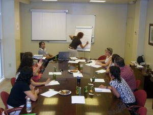 A focus group is a form of qualitative research in which a group of people are asked about their perceptions, opinions, beliefs, and attitudes towards a product, service, concept, advertisement, idea, or packaging. Questions are asked in an interactive group setting where participants are free to talk with other group members.