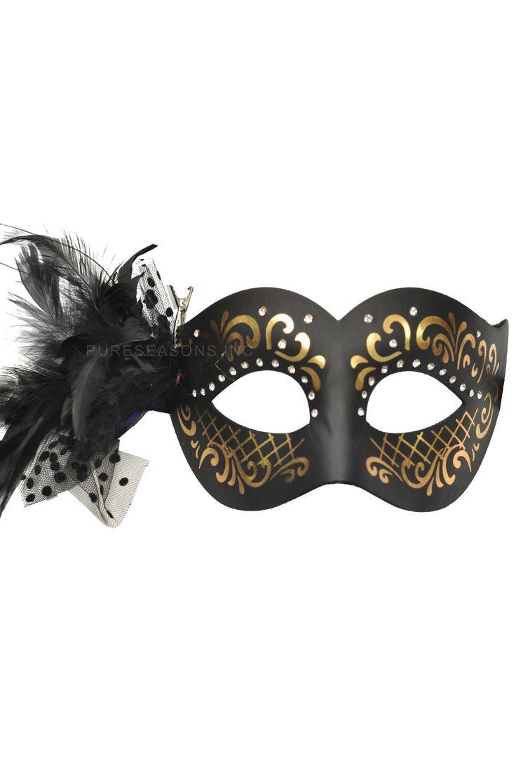 Cigno Nero Masquerade Mask