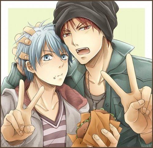 Kuroko & Kagami | Kuroko no Basket #manga