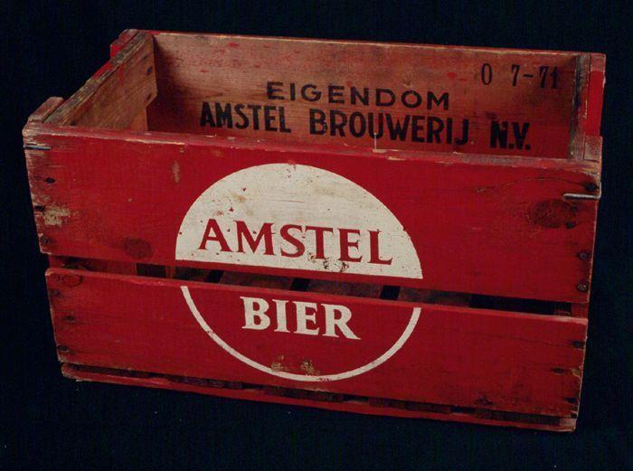 Bierkrat Amstel 1971