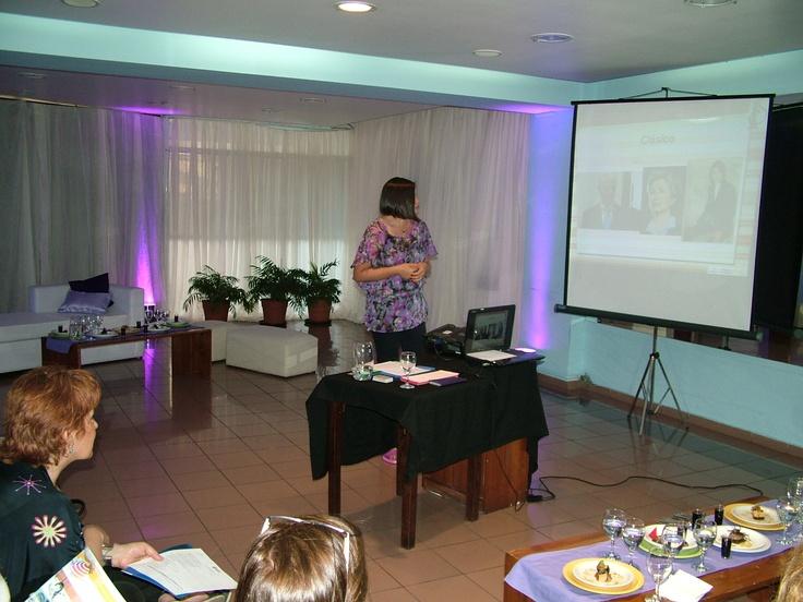 Jornada sobre imagen para prensa organizada por el Instituto Mariano Moreno.  Septiembre de 2011