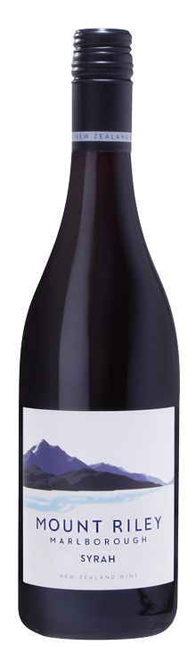 2013 Mount Riley Syrah — Mount Riley Wines Blenheim, Marlborough