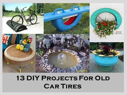 13 DIY Projects For Old Car Tires