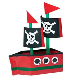 Make a pirate ship (and a sail boat) from a recycled milk carton - from the May 2013 issue of Ranger Rick