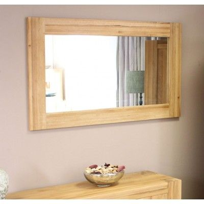 atlas chunky oak hidden home. image of the baumhaus atlas oak wall mirror cmr16a chunky hidden home n