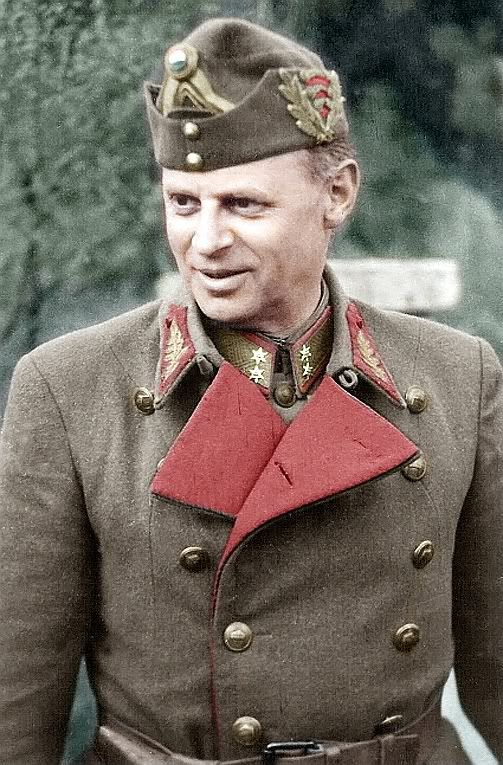 Hungarian General Ferenc Fargas, July 44