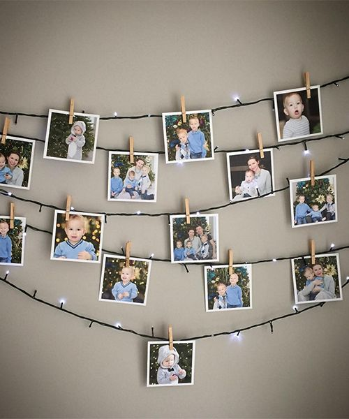 Exclusive free liquorice pompom tutorial photography - How to hang string lights on wall ...