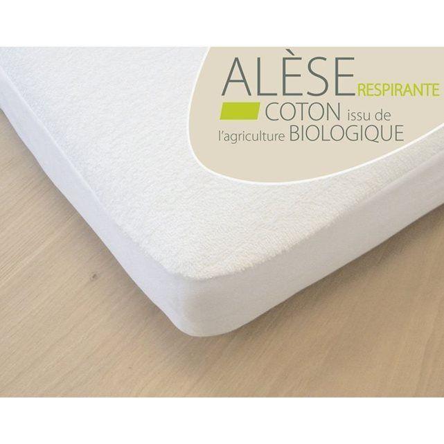 Alèse Bébé Coton Bio pour lit 60x120 cm
