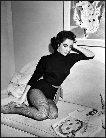 My mother says I didn't open my eyes for eight days after I was born, but when I did,  the first thing I saw was an engagement ring. I was hooked. -Elizabeth Taylor
