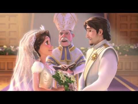 Tangled + wedding , need I say more...