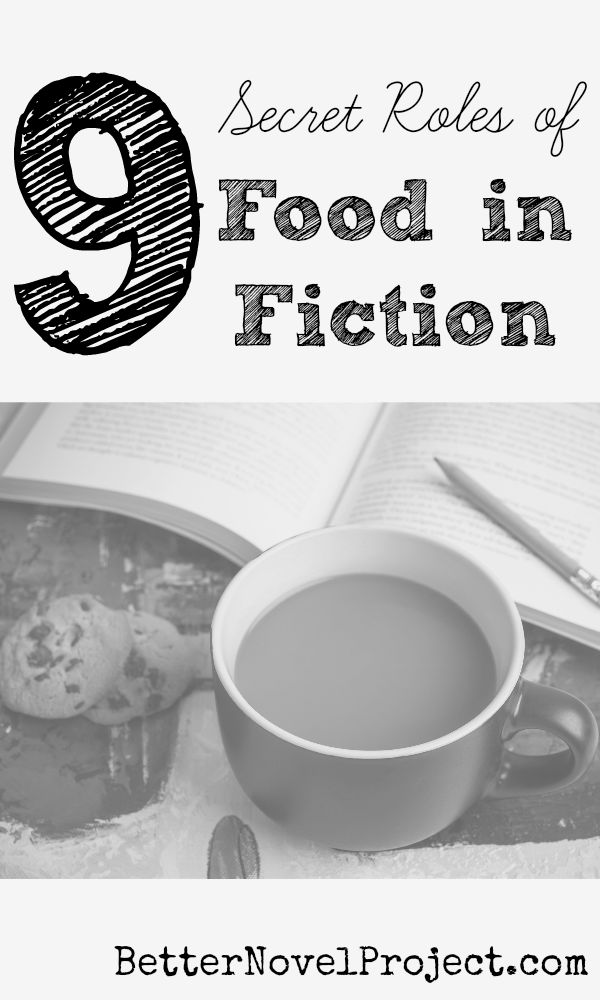 """""""The most popular YA novels use food as a vehicle for backstory and description. We get a chance to learn about the story beyond what the characters happen to say when their mouths are full.  The Harry Potter books, Twilight Series, and Hunger Games Series use food as a symbol for..."""""""