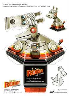 dog Robot illusion figure