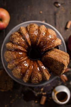 Torta di mele, cannella e sciroppo d'acero - vegan senza glutine