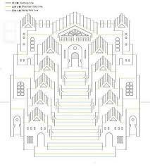 Image result for plantillas de kirigami arquitectonico