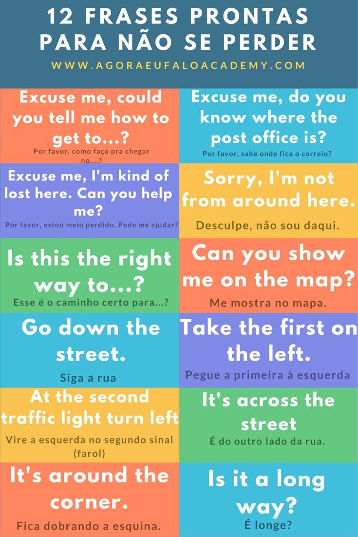 Essas #frasesprontas são muito úteis. Lembre-se que a tradução que está aí é só uma referência e pode não ser a tradução literal. Foque seu aprendizado nas frases em Inglês e esqueça as frases em português. saiba mais em www.agoraeufaloacademy.com