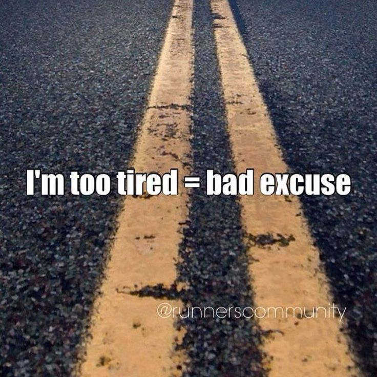 """No more Excuses!  Whether were beginner or experienced runners every now and then we all find a reason not to run. But there are reasons and then there are excuses. An injury is a real reason not to run. 1. """"I'm not a morning person; it's too hard to get out of bed."""" You dont have to run first thing in the morning. Just do whatever works for you whether thats running during your lunch hour or after work.  2. """"My exercise partner is away this week."""" This can be a problem  if going with a…"""