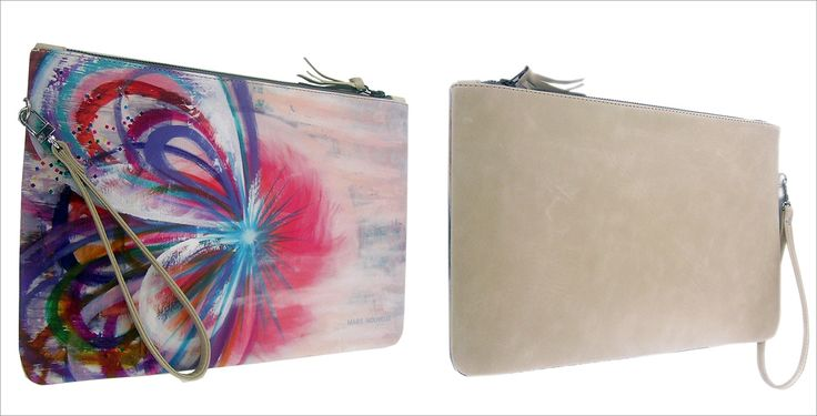 The Calling- leather clutch