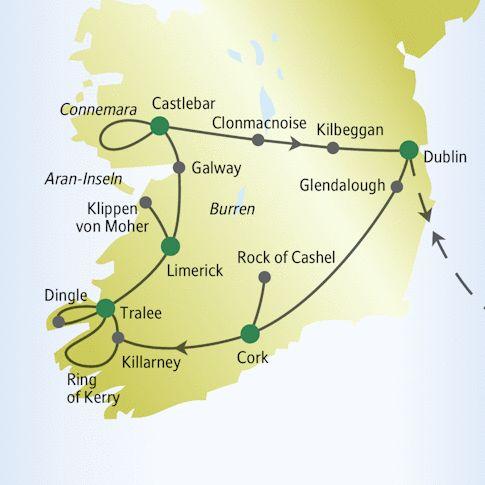 Irland Reise für Mama