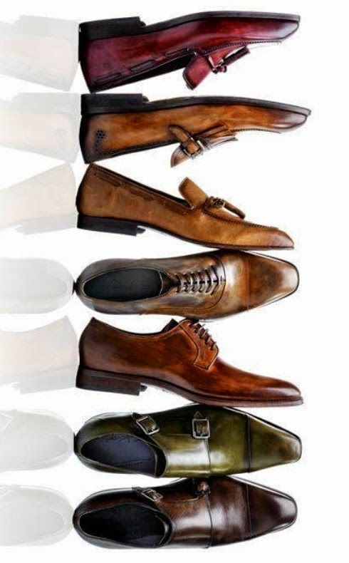 Some sweet green double monk straps!