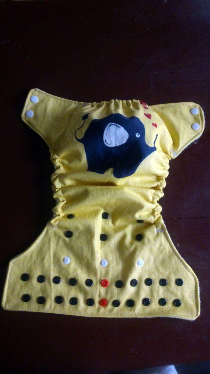 Zsebes pelenka dekorálás és varrás magyarul szabásmintával <3 ------ <3 Pocket diaper sewing and decorating. DIY & pattern