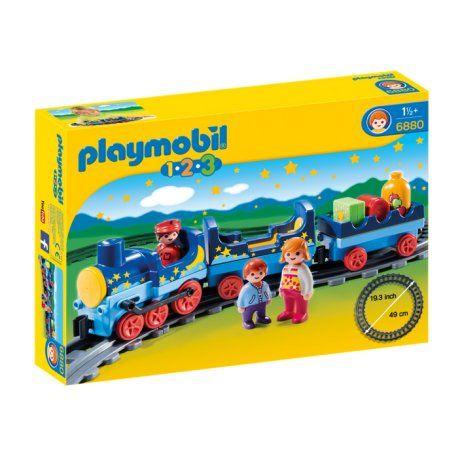 Witajcie,     Jak zostać maszynistą?    Gwiezdny pociąg z torami, figurkami i akcesoriami w zestawie Playmobil 6880 to idealna zabawka dla małych dzieci już od 18 miesięcy.     Jasny i kolorowy design. Duże, zaokrąglone elementy pociągu można łączyć ze sobą.    No to wsiadamy:)    http://www.niczchin.pl/playmobil-123-dla-najmlodszych/4042-playmobil-6880-gwiezdny-pociag-z-torami.html    #playmobil #playmobil123 #gwiezdnypociąg #zabawki #niczchin #kraków