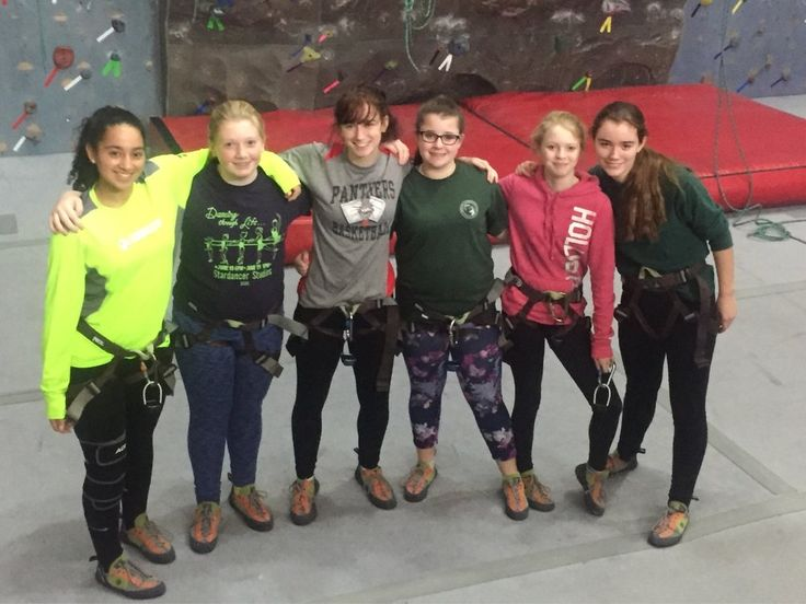 Middle School Rock Climbing #Windsor