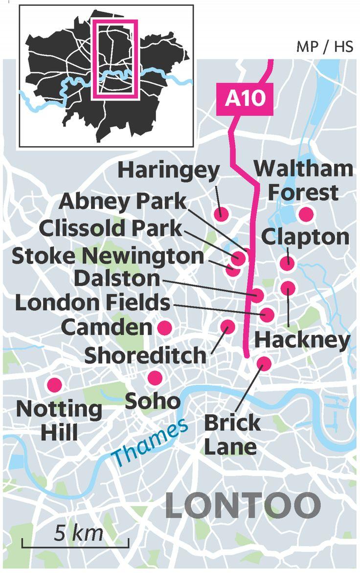 Lähde itäiseen Lontooseen – tässä ovat trendialueiden kivoimmat kohteet | Matkailu | HS