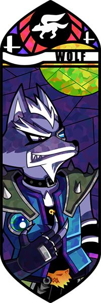 Super Smash Bros - Wolf by Quas-quas