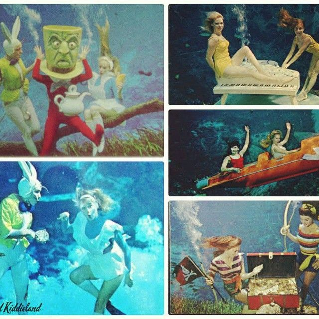 More from the Mermaid post! Click link in profile to see it all! #WeekiWachee #Mermaids #EnchantedKiddieland #FamilyFun #Florida