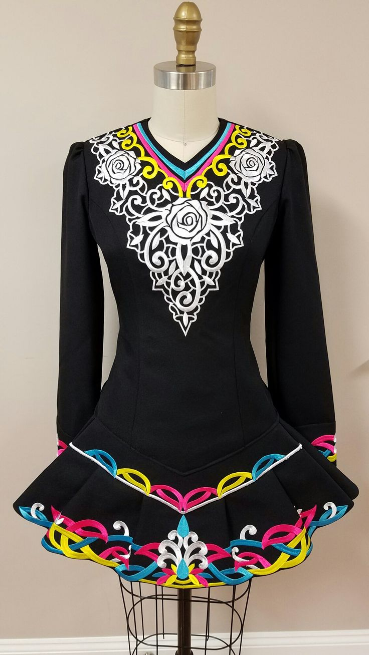 816 best Irish dance dress images on Pinterest | Irish dance ...