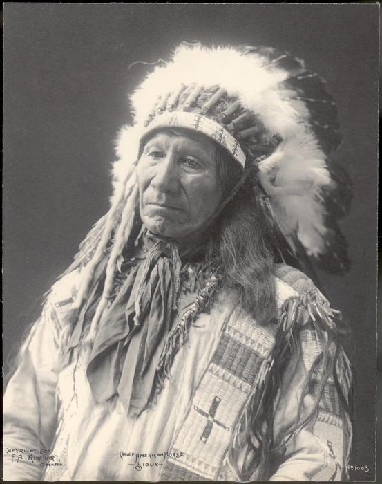 Chief American Horse, Oglala Lakota (Oglala Sioux)