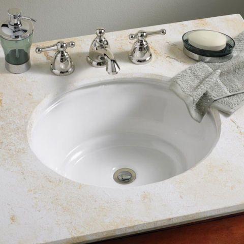 Best Drop In Bathroom Sinks Images On Pinterest Bathroom - American standard undermount bathroom sinks for bathroom decor ideas